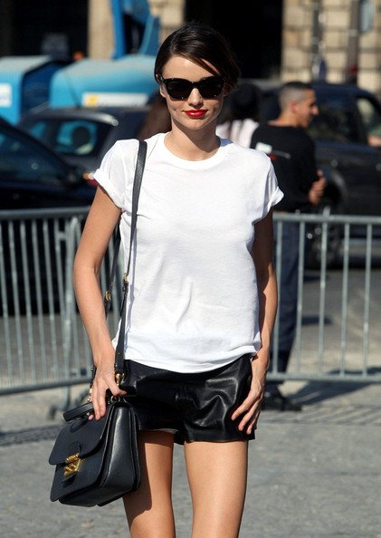 She Makes a Plain White Tee Pack a Punch
