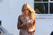 Khloe Kardashian Over the Knee Boots