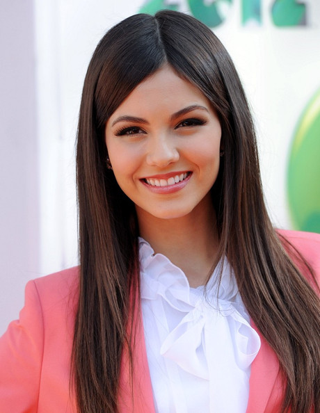 More Pics of Victoria Justice Long Straight Cut (1 of 13) - Long Straight Cut Lookbook - StyleBistro