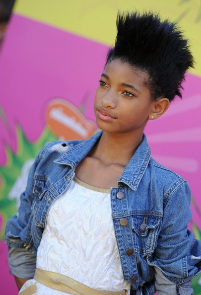 More Pics of Willow Smith Fauxhawk (1 of 8) - Short Hairstyles Lookbook - StyleBistro