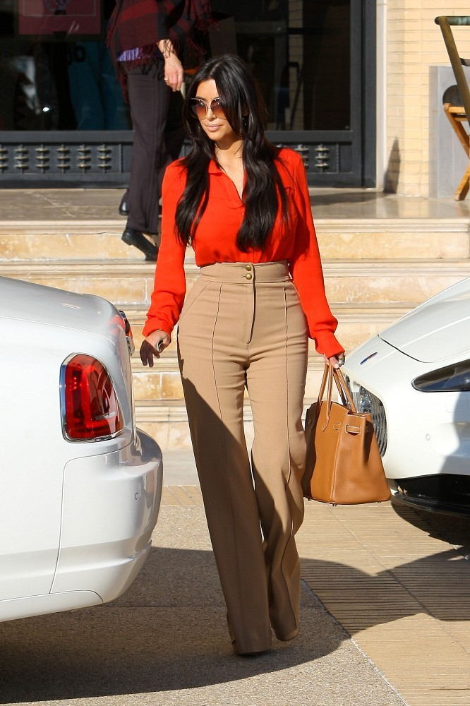 Kim Kardashian High Waisted Pants Kim Kardashian Pants