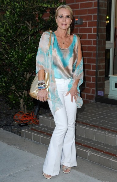 Kim Richards Print Blouse