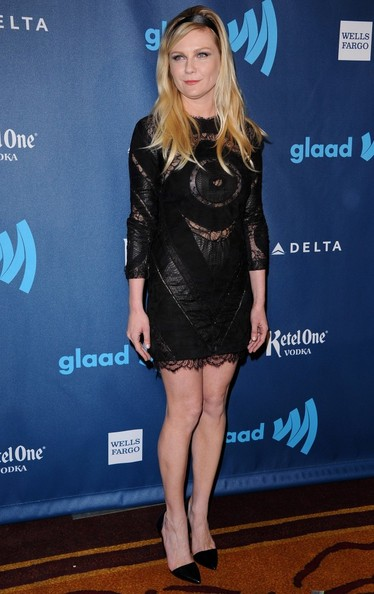 Kirsten Dunst Little Black Dress