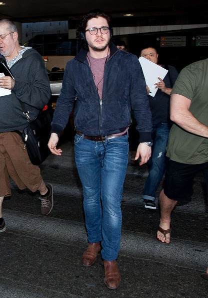 Kit Harington Bomber Jacket