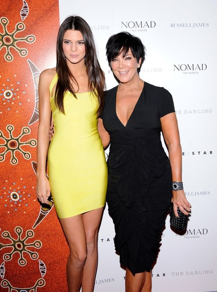 Kris Jenner Printed Clutch