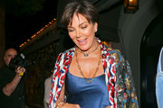 Kris Jenner Gemstone Inlaid Purse
