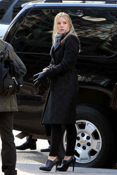 Kristen Bell Ankle Boots