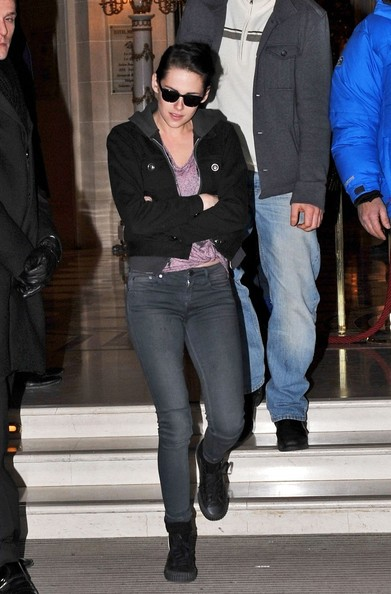 Kristen Stewart Denim Jacket
