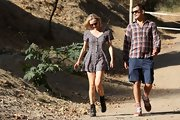 Diane Kruger's hiking look consisted of a '90s-inspired skater dress, and we just love it!