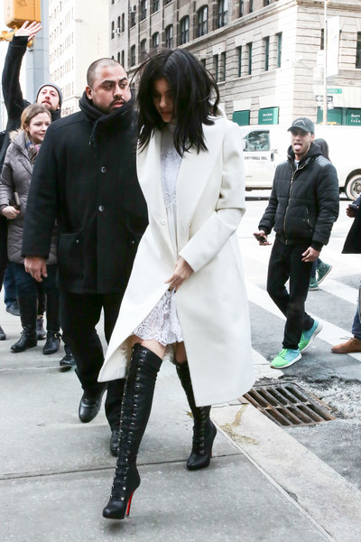 Kylie Jenner Over the Knee Boots [street fashion,fashion,clothing,snapshot,footwear,leg,outerwear,knee,knee-high boot,thigh,footwear,kylie jenner,fashion,boot,over-the-knee boot,boots,clothing,knee,snapshot,nyc,kylie jenner,travis scott,christian louboutin,boot,fashion,over-the-knee boot,thigh-high boots,coat,shoe,clothing]
