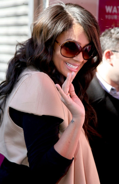 La La Anthony Oversized Sunglasses