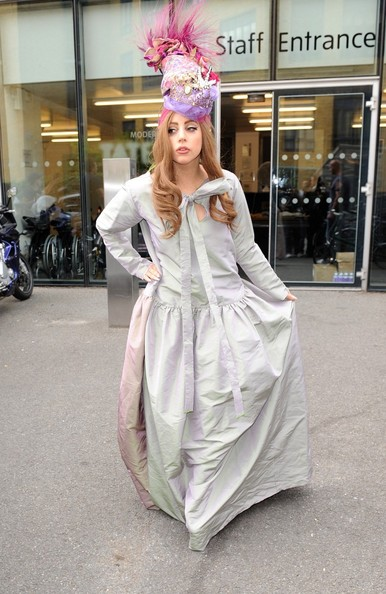 Lady Gaga Maxi Dress