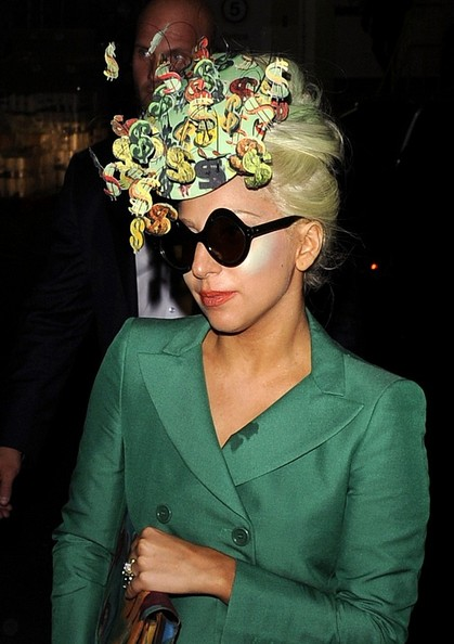 Lady Gaga Fascinator