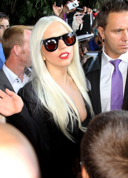 Lady Gaga Square Sunglasses