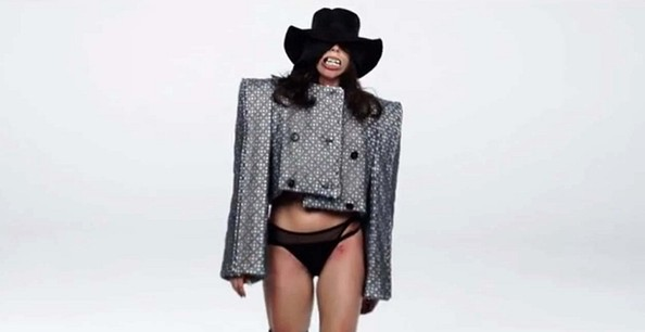 Lady Gaga Cropped Jacket