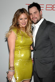 Hilary Duff wore a Candy Terracotta bracelet with diamonds, champagne citrine and smoky topaz at the launch of The Beauty Book for Brain Cancer.