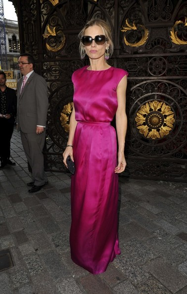 Laura Bailey Evening Dress