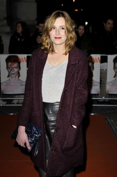 Laura Carmichael Leather Clutch