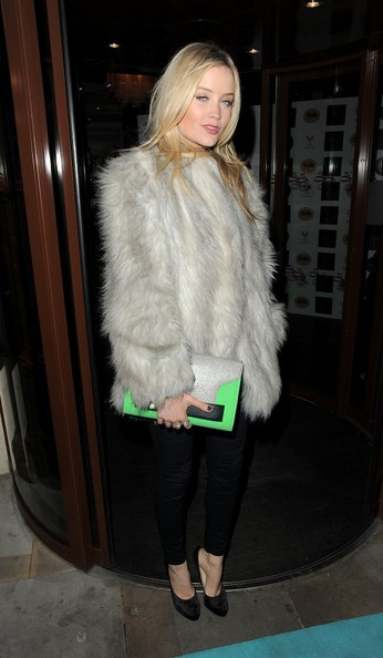 Laura Whitmore Oversized Clutch