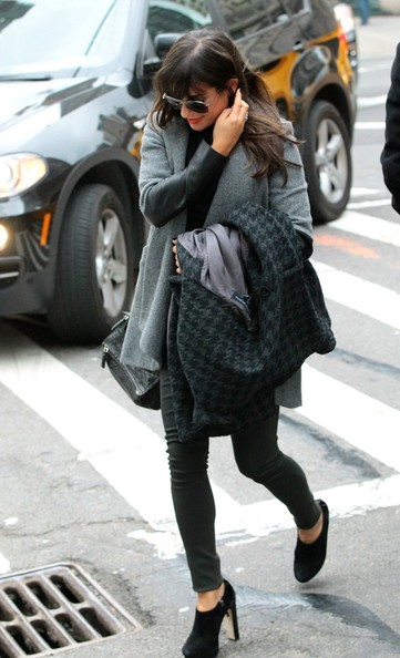 More Pics of Lea Michele Ankle Boots (1 of 7) - Lea Michele Lookbook - StyleBistro