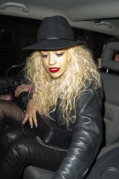 More Pics of Rita Ora Long Curls (1 of 29) - Long Curls Lookbook - StyleBistro