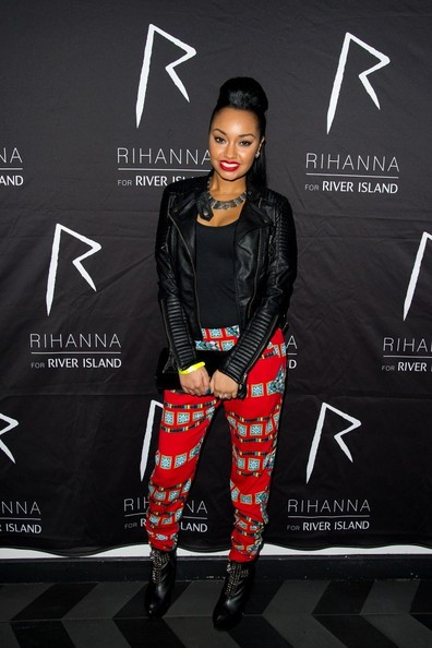 Leigh-Anne Pinnock Print Pants
