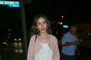 Lily Collins Shift Dress