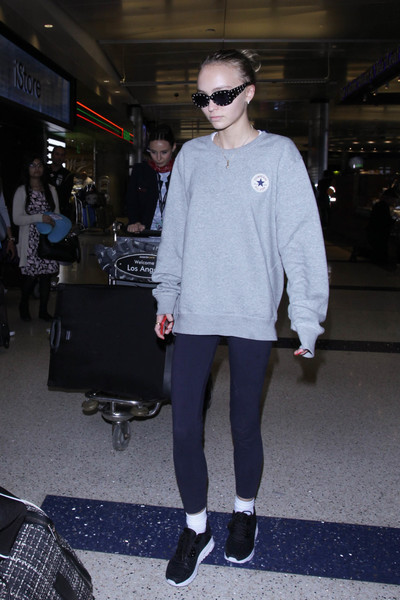 Lily-Rose Depp Sweatshirt