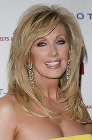 Morgan Fairchild was a stunner at the Linked Against Leukemia Gala with this fashionable layered 'do.