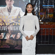 Or how about when she was a walking winter wonderland in J. Mendel couture at the 'Live By Night' premiere