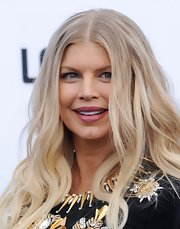 Fergie showed she's not afraid of a little color when she sported this bright fuchsia lip color.