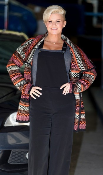More Pics of Kerry Katona Wool Coat (1 of 5) - Kerry Katona Lookbook - StyleBistro