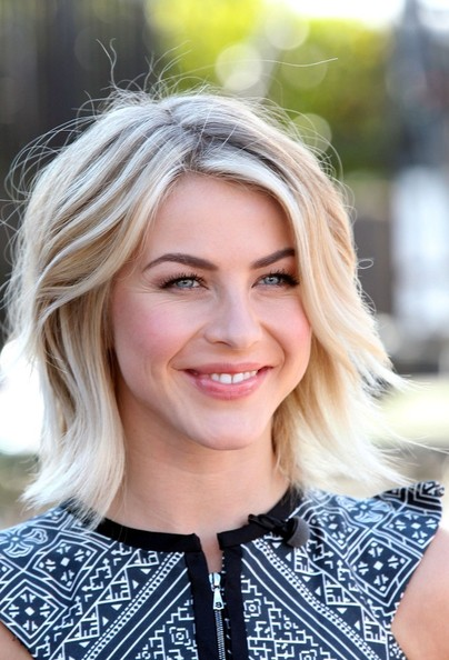 More Pics of Julianne Hough Layered Razor Cut (1 of 29) - Julianne Hough Lookbook - StyleBistro