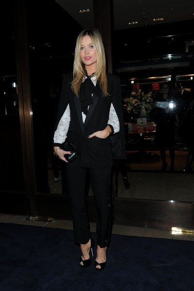 More Pics of Laura Whitmore Pantsuit (1 of 5) - Suits Lookbook - StyleBistro []
