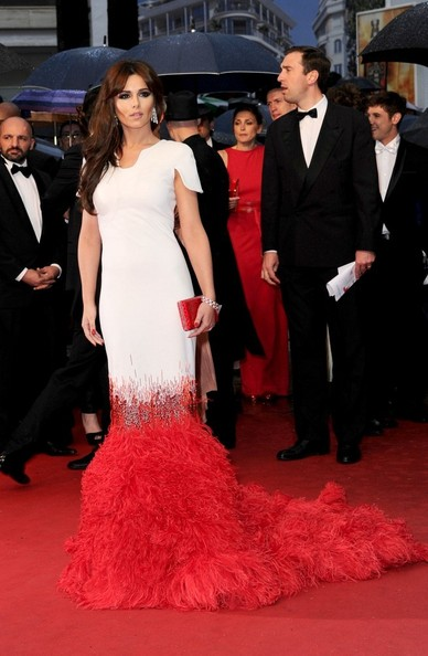 Cheryl Cole in Stéphane Rolland Couture, 2012