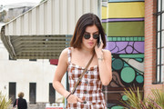 Lucy Hale Leather Sneakers