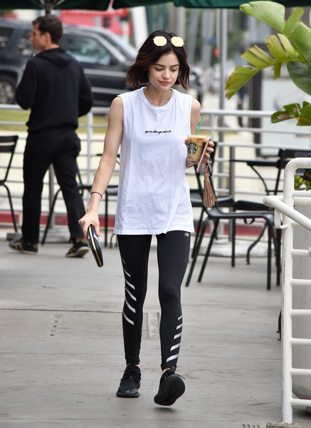 More Pics of Lucy Hale Crosstrainers (1 of 8) - Athletic Shoes Lookbook - StyleBistro []