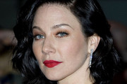 Lynn Collins Red Lipstick