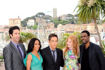 "Jada Pinkett Smith Jessica Chastain ""Madagascar 3"" Photocall in Cannes"