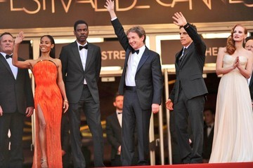 "Jada Pinkett Smith Jessica Chastain ""Madagascar 3"" Premiere in Cannes"