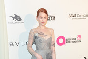 Madelaine Petsch Embroidered Dress
