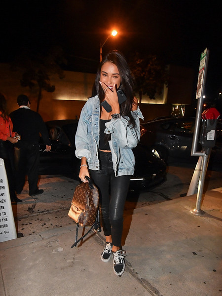 Madison Beer Canvas Sneakers []