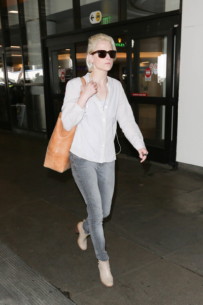 Mamie Gummer Ankle Boots []
