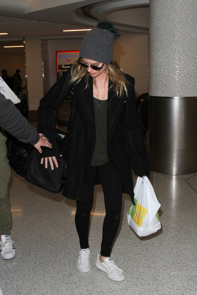 Margot Robbie Oversized Jacket