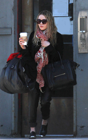 Mary-Kate Olsen Leather Tote