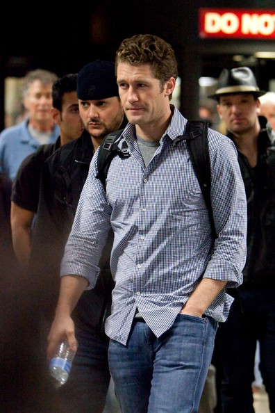 More Pics of Matthew Morrison Leather Slip On Shoes (1 of 4) - Matthew Morrison Lookbook - StyleBistro