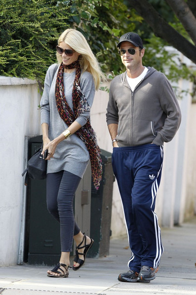 Claudia Schiffer and Matthew Vaughn in Notting Hill