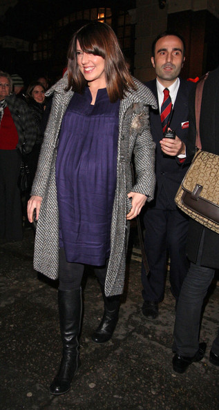 Mel C Tweed Coat