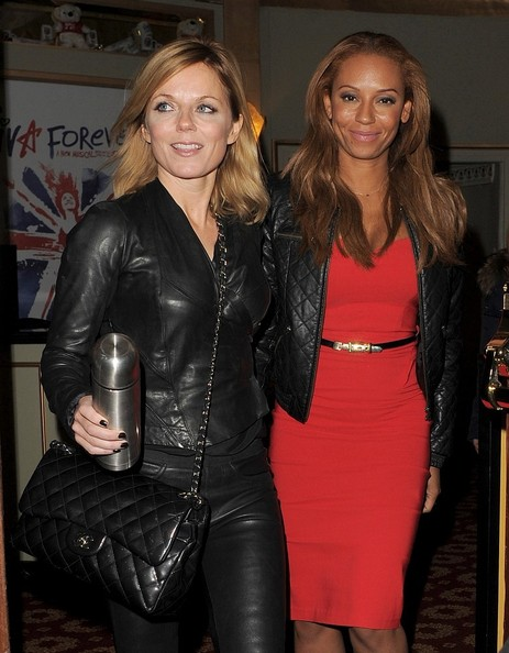 More Pics of Geri Halliwell Leather Pants (1 of 13) - Pants & Shorts Lookbook - StyleBistro