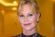 Melanie Griffith Loose Bun